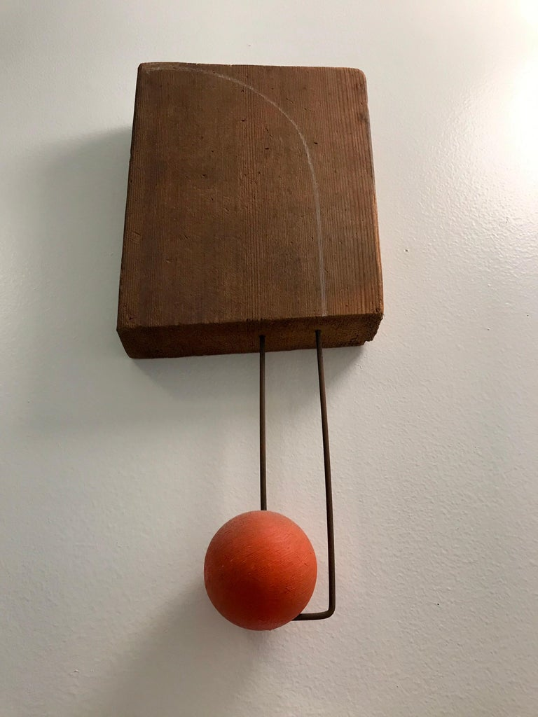 American Small Mixed Media Sculpture by Di Vincente For Sale