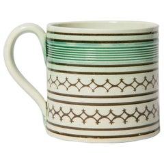 Small Mochaware Mug England, circa 1820