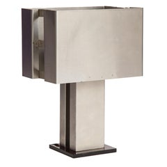 Small Modernist Metal Table Lamp