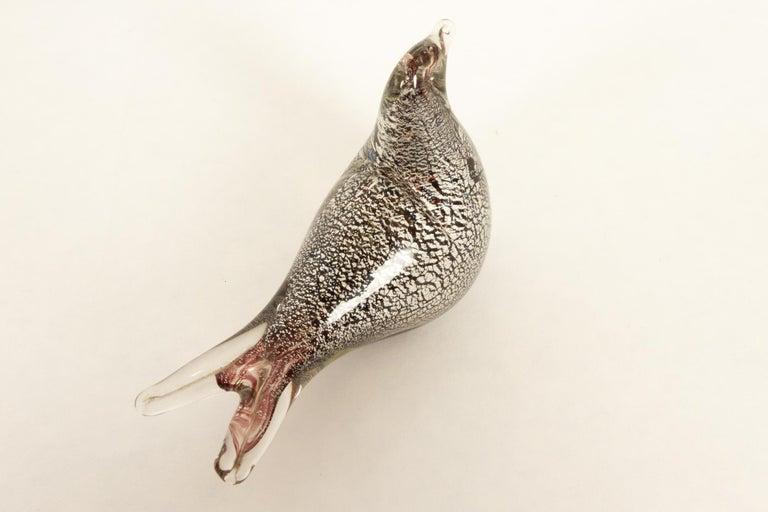 Murano Glass Small Murano Bird For Sale