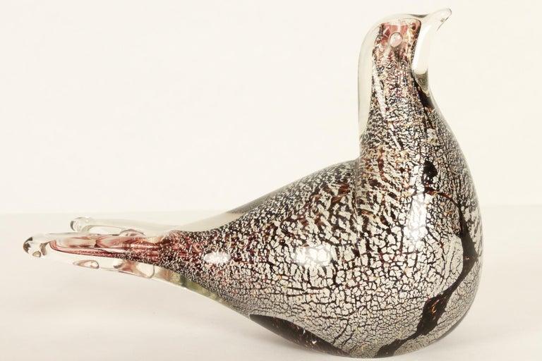 Small Murano Bird For Sale 2
