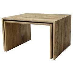 Small Old Fir Coffee Table, Made in Italy