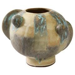 Small Orb Vase #3 by Robbie Heidinger