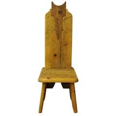 Small Owl Throne Chair
