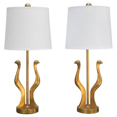 Small Pair of Riccardo Scarpa Table Lamps