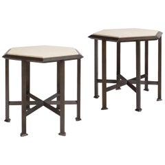 """Small Pedestal Table """"Orion"""""""