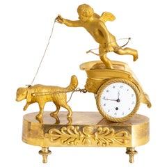 Small Pendule, Sig. Paillard à Paris, France, First Half of the 19th Century