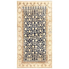Small Pomegranate Design Antique Khotan Rug. Size: 4 ft 6 in x 8 ft 3 in