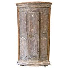 Small French Corner Cabinet, circa 1800