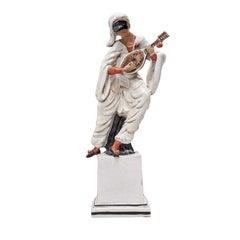Small Pulcinella Statue by Ceccarelli