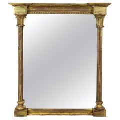 Small Regency Water Gilded Mirror