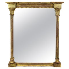Small Regency Water Gilded Mirror