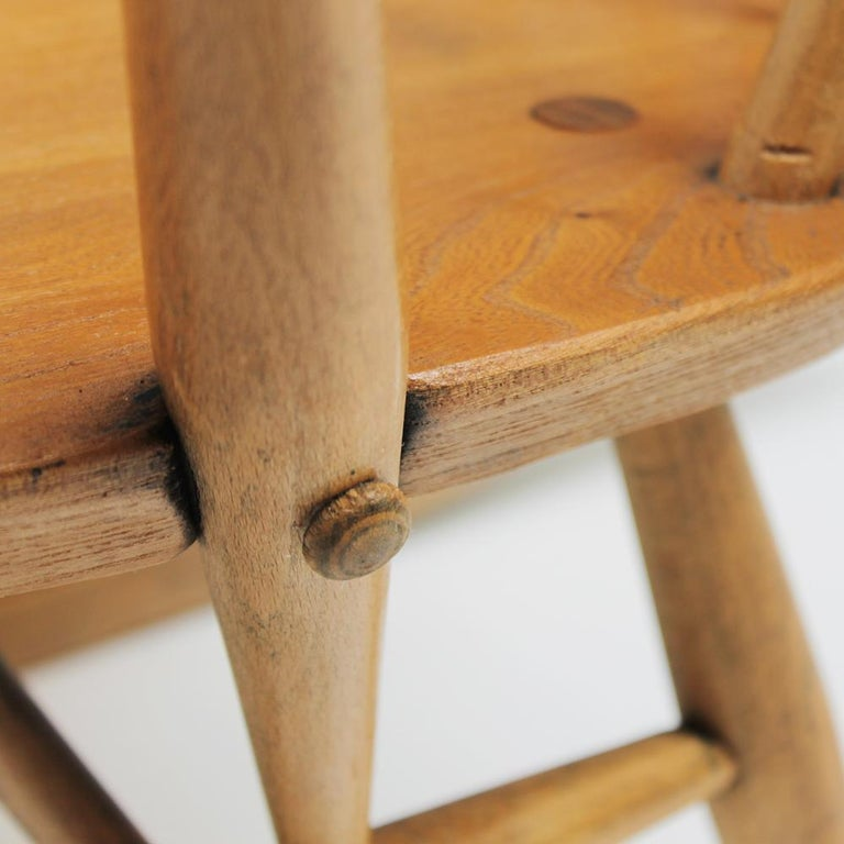 Small Rocking Chair by Lucian Ercolani for Ercol For Sale 9