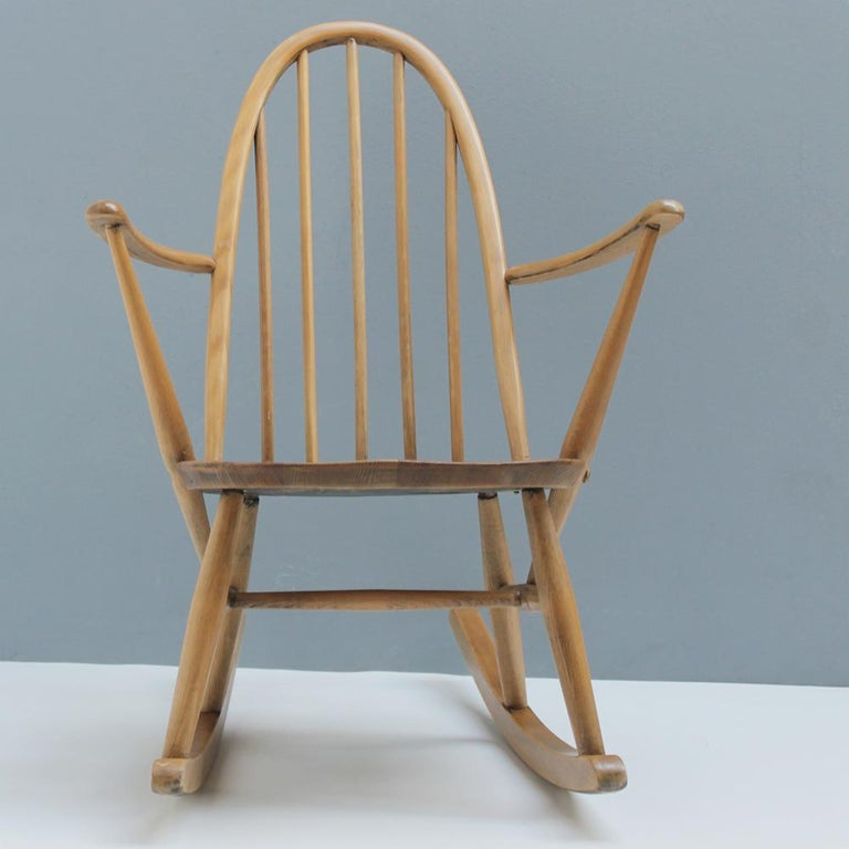 Small Rocking Chair by Lucian Ercolani for Ercol For Sale 1
