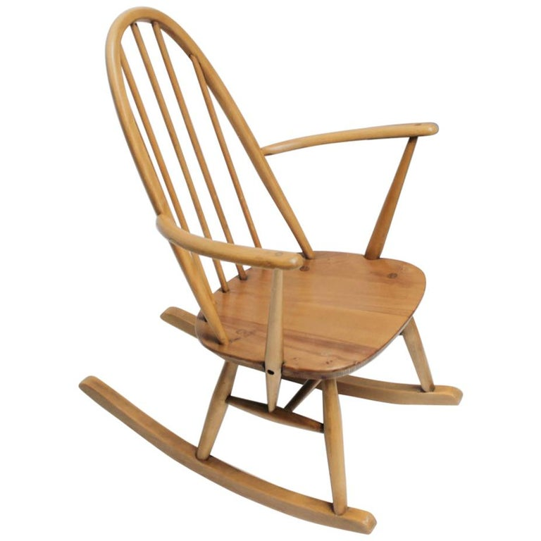 Small Rocking Chair by Lucian Ercolani for Ercol For Sale