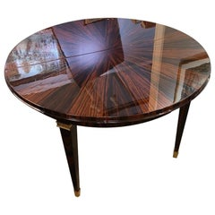 Small Round Art Deco French Table