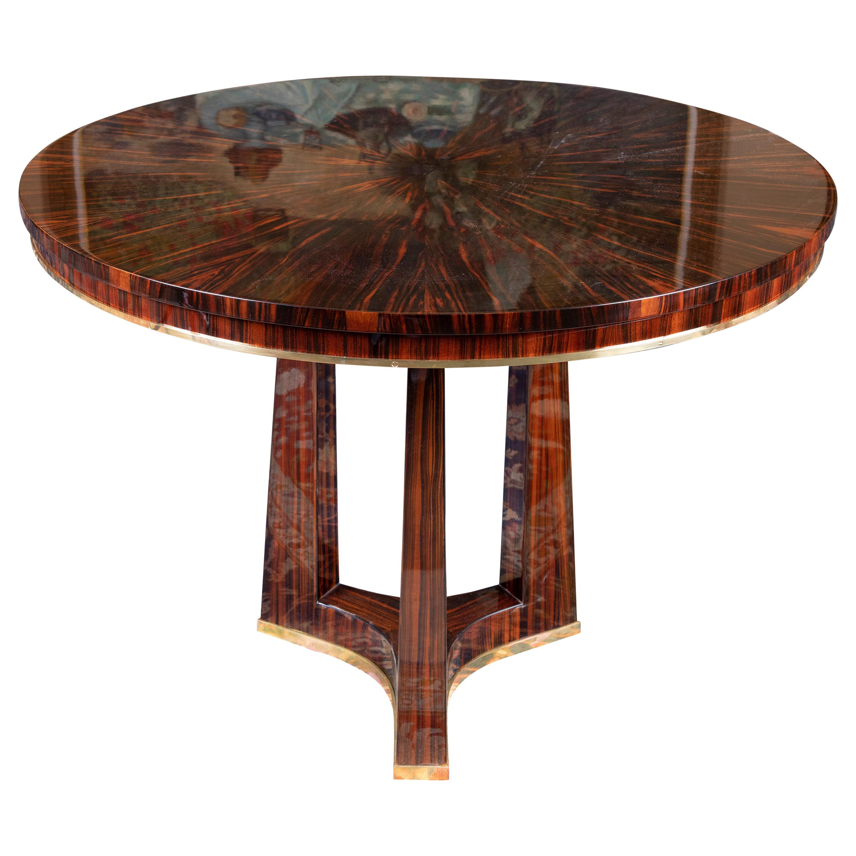 Small Round Breakfast Room Art Deco Table