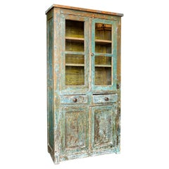 Small Rustic Farm Cupboard