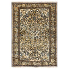Small Scatter Size Antique Malayer Persian Carpet