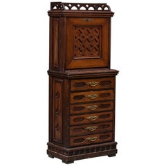 Small Secretary/ Chest of Drawers