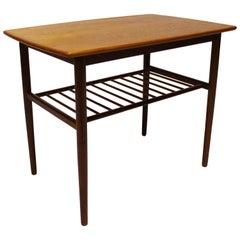 Small Side Table in Teak of Danish Design, 1960s