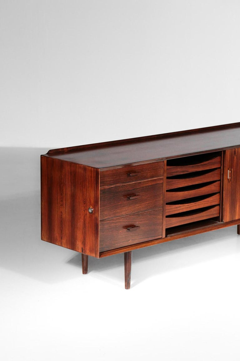 Scandinavian Modern Small Sideboard by Arne Vodder for Sibast, Danish Design For Sale
