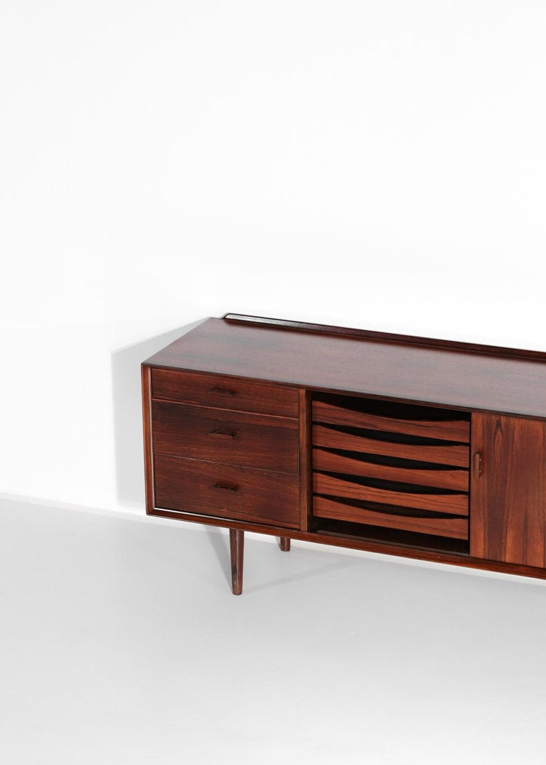 Small Sideboard by Arne Vodder for Sibast, Danish Design In Good Condition For Sale In Lyon, FR