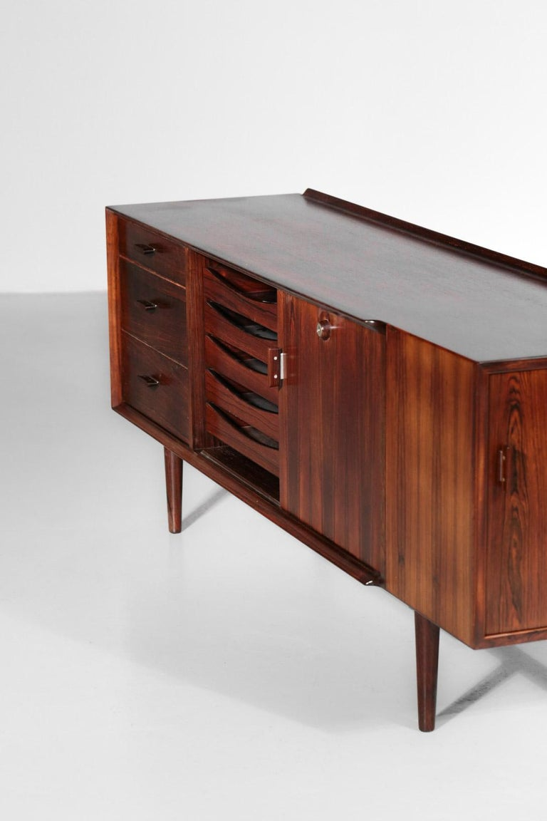Mid-20th Century Small Sideboard by Arne Vodder for Sibast, Danish Design For Sale