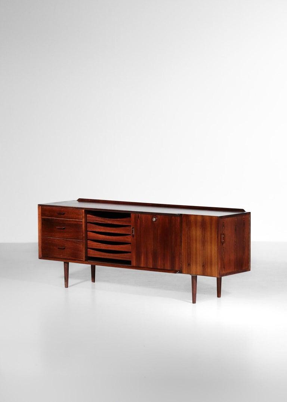 Palisander Small Sideboard by Arne Vodder for Sibast, Danish Design For Sale