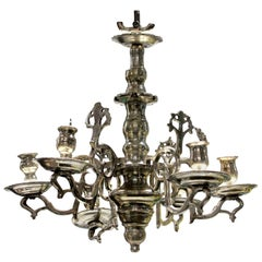 Small Silver Flemish Chandelier