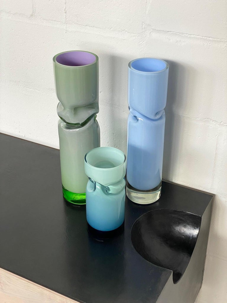 Contemporary Small Smashed Vase by Avram Rusu Studio For Sale