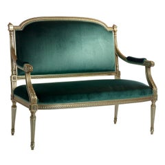 Small Sofa Louis XVI #1