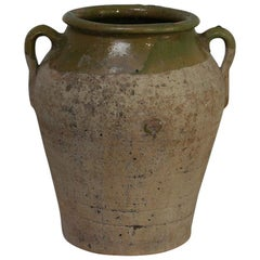 Small Spanish 19th Century Olive Jar