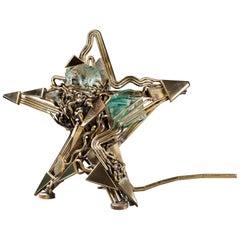 Small Starry Lamp by Michel Kiriliuk