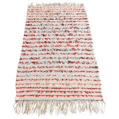 Small Striped Beni Ouarain Rug
