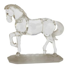Small Swarovski Horse Sculpture
