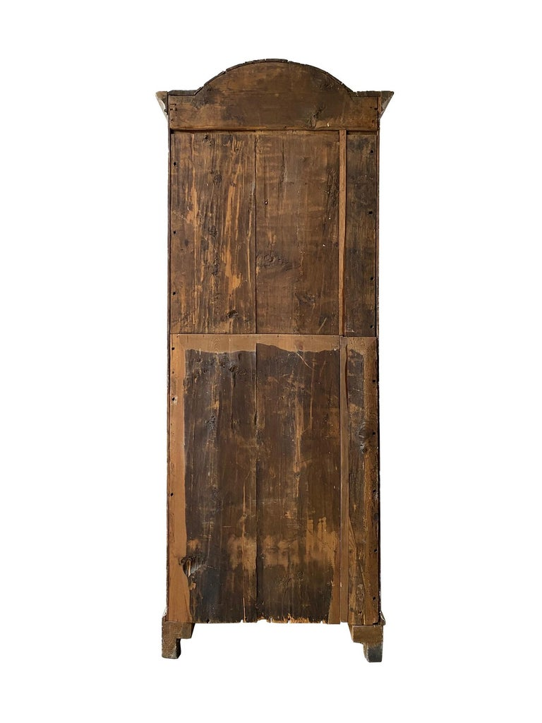 18th Century and Earlier Small Swedish 18th Century Bureau Bookcase For Sale