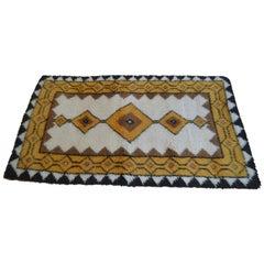 Small Swedish Midcentury Carpet, Rug, 1970s