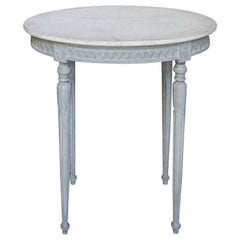 Small Swedish Serving Table in the Gustavian Style