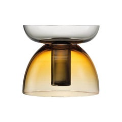 Small Tabarro Centerpiece in Murano Glass by Alberto Lago