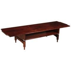 Small Table, Rosewood Veneer, 1960s Claudio Salocchi