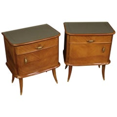 Small Tables and Bedside Table, 20th Century