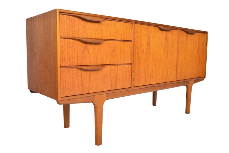 Mid-20th Century Small Teak Dunvegan Credenza by McIntosh For Sale