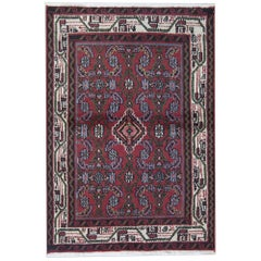 Small Traditional Area Rug Handmade Carpet Turkish Oriental Wool