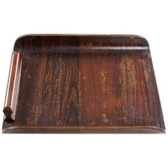 Small Tray in Rosewood, Brazil, 1960s.