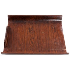 Small Tray in Rosewood, Brazil, 1960s