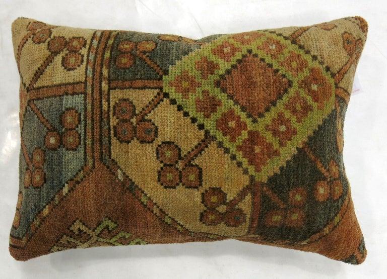 19th Century Small Tribal Ersari Rug Pillow For Sale