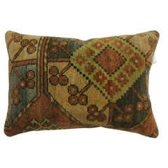 Small Tribal Ersari Rug Pillow