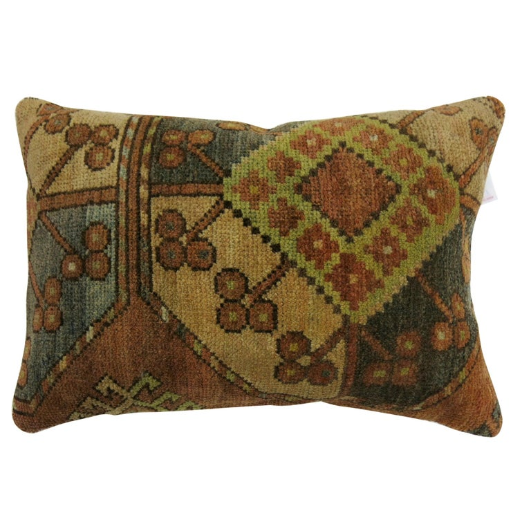 Small Tribal Ersari Rug Pillow For Sale