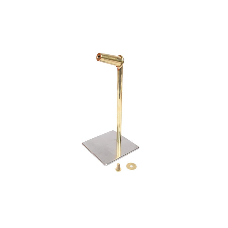Small Two-Bladed Bronze Propeller with Base For Sale 5